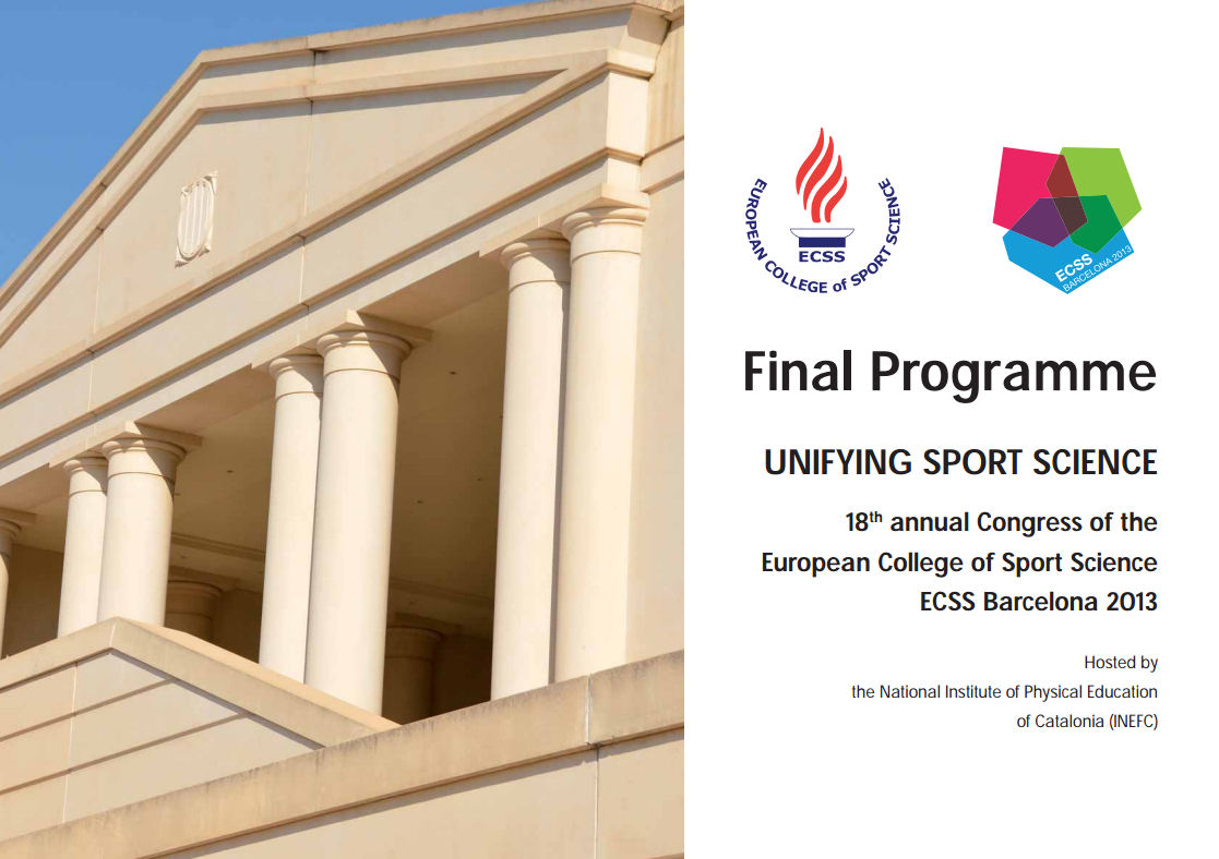 18th  annual Congress of the  European College of Sport Science 2013
